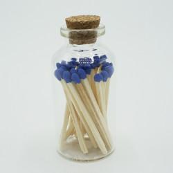 Cristal Tapón Corcho 20 Natural Azul